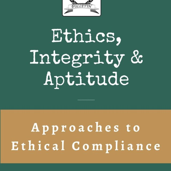 Approaches to Ethical Compliance