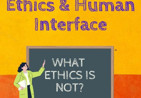 What Ethics is not Cover